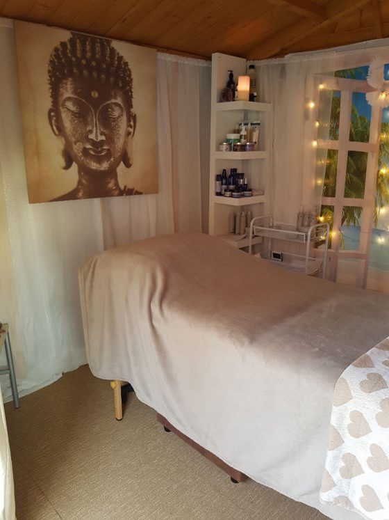 Alison Barrow Reiki Treatment Table