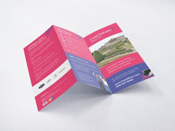 Sam Hall live oldham brochure
