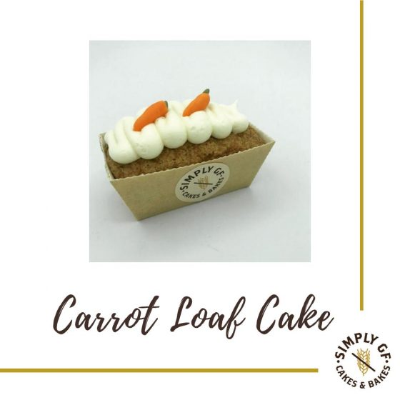 Simply Gluten Free Carrot Loaf Cake