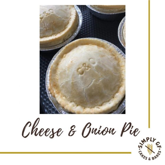 Simply Gluten Free Cheese And Onion Pie