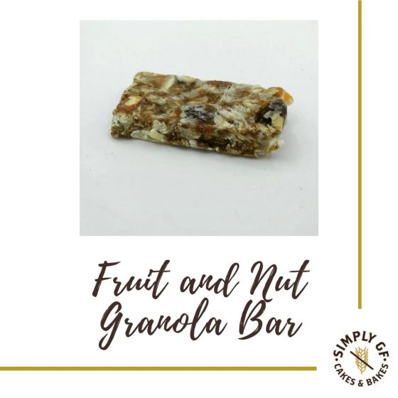 Simply Gluten Free Fruit And Nut Granola Bar