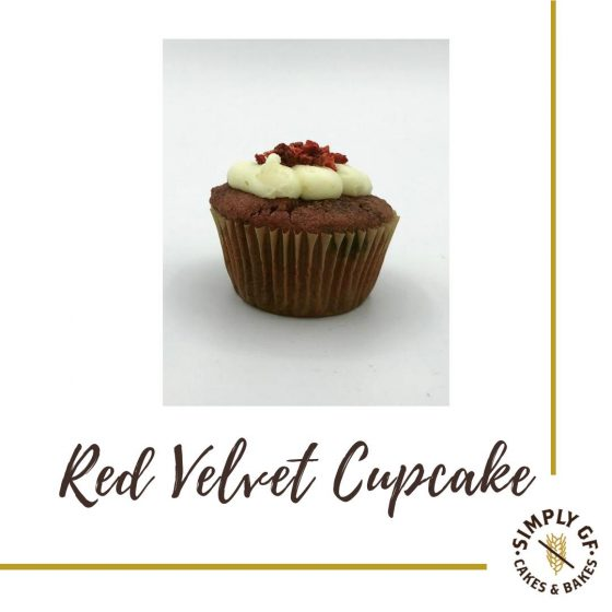 Simply Gluten Free Red Velvet Cup Cake